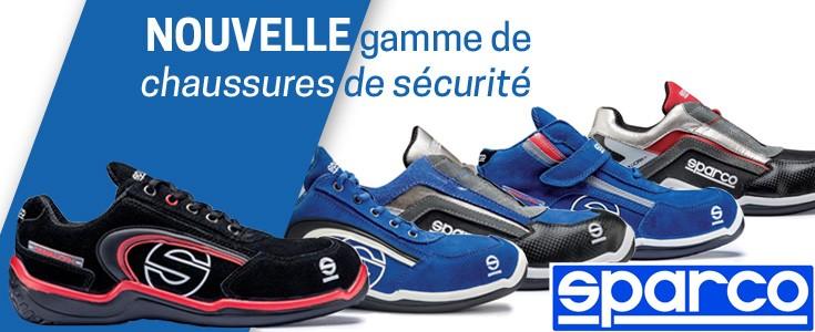 Connaissez-vous la nouvelle collection Teamwork de chaussures de sécurité Sparco ?